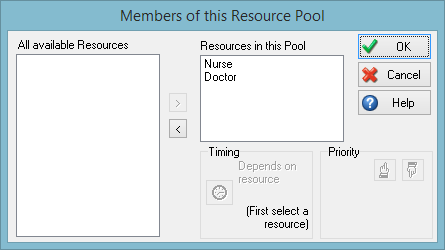 Members of the resource pool