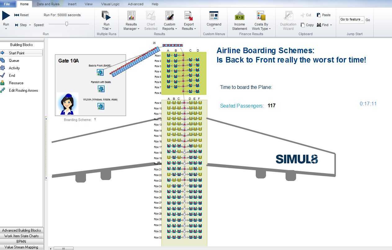 AirlineBoardingScreen