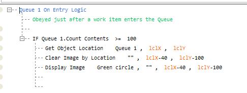 Queue Status Color Example 3