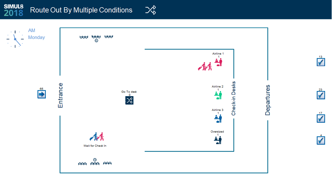 Route Out By Multiple Conditions 5